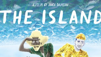 The first poster of The Island!
